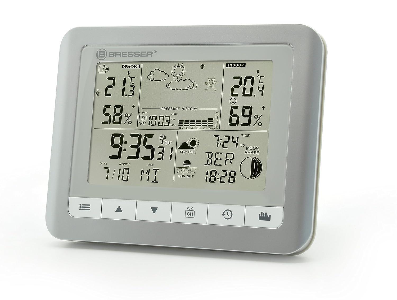 Amazon.com: Bresser Wireless Weather Station Temeotrend Wfs ...