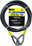 Sterling 124C 12mm x 4.5m Double Loop Vinyl Coated Security Cable Self Coiling