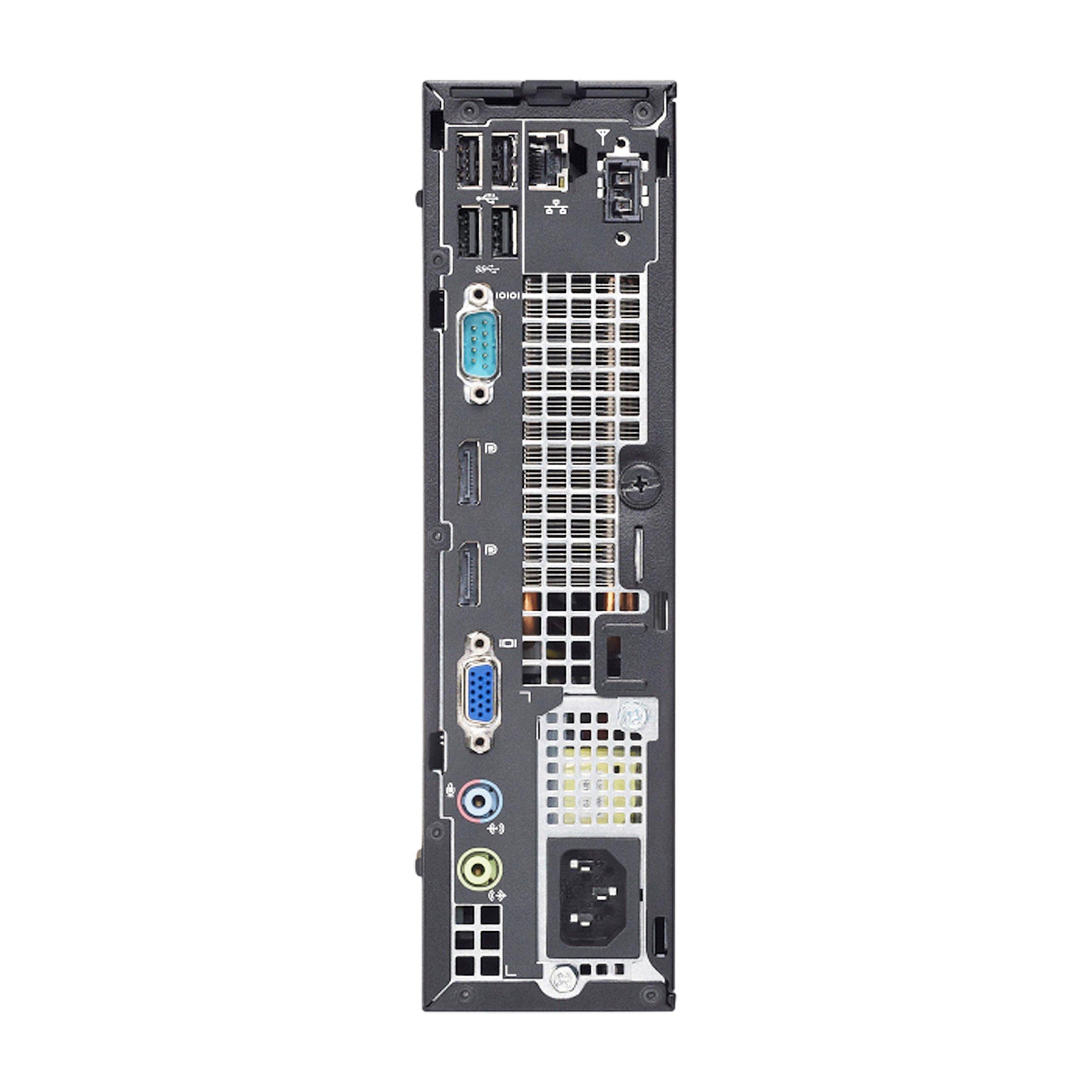 2018 Dell Optiplex 7010 Ultra Small Form Factor Desktop Computer (Intel Core i3-3220 3.3GHz,4GB DDR3 RAM,500GB,DVD-ROM,Windows 10 Pro 64-Bit) (Certified Refurbished) by Dell (Image #4)