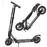 Apollo Big Wheel Scooter 200 mm - Spectre Pro ist EIN Luxus Pro City Scooter mit Doppel Federung, City-Roller klappbar und Höhenverstellbar, Kickscooter für Erwachsene und Kinder