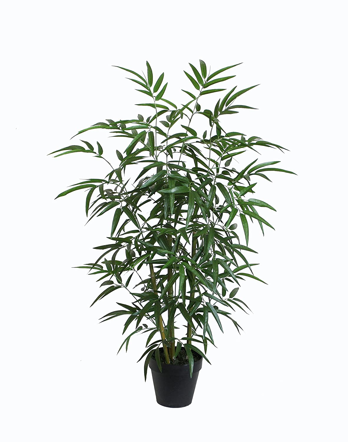 Best Artificial 3ft / 90cm Green Bamboo Tree Office Home Conservatory Plant