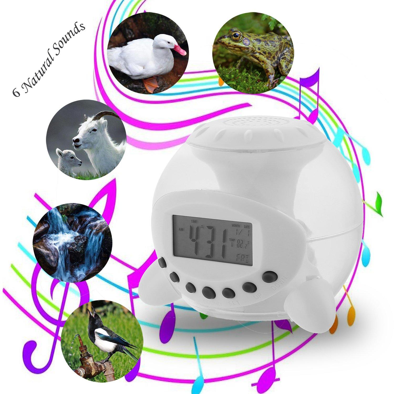 amazon com alarm clock onego digital clock wake up light clock rh amazon com Cartoon Clock Clip Art Cartoon Clock Clip Art