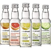 SodaStream Fruit Drops Citrus Variety Pack Drink Mixes, 1.36 fl.oz (Pack of 5)