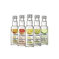 SodaStream Fruit Drops Citrus Variety Pack Drink Mixes, 1.36 fl. oz., Pack of 5, 1.36 oz