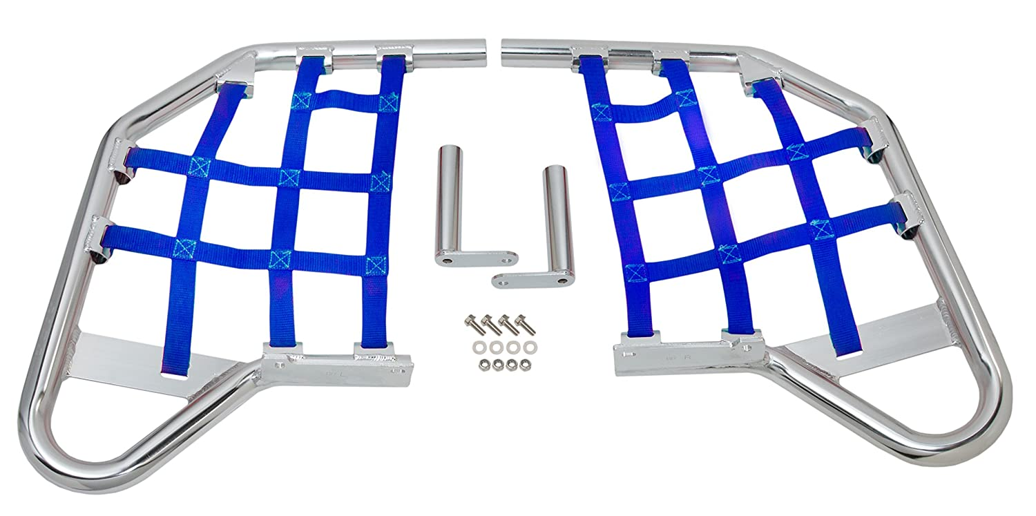 Comp Series Nerf Bars Replacement Webbing Blue for Yamaha RAPTOR 660 2001-2005