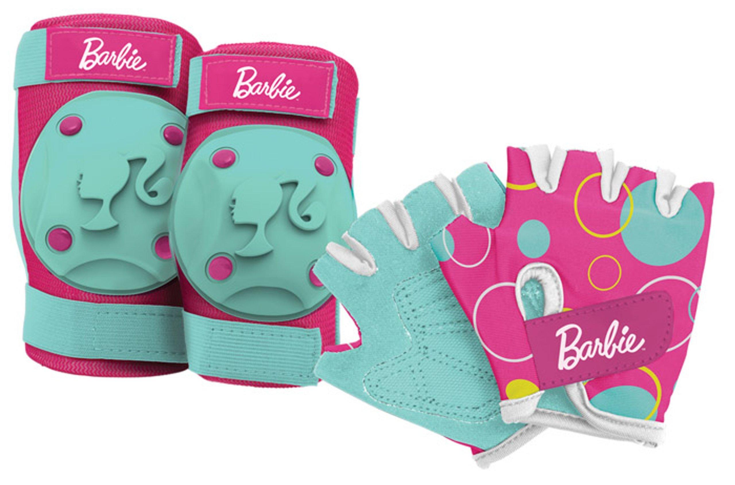Bell 7016545 Barbie My Fab Bike Pads/Gloves