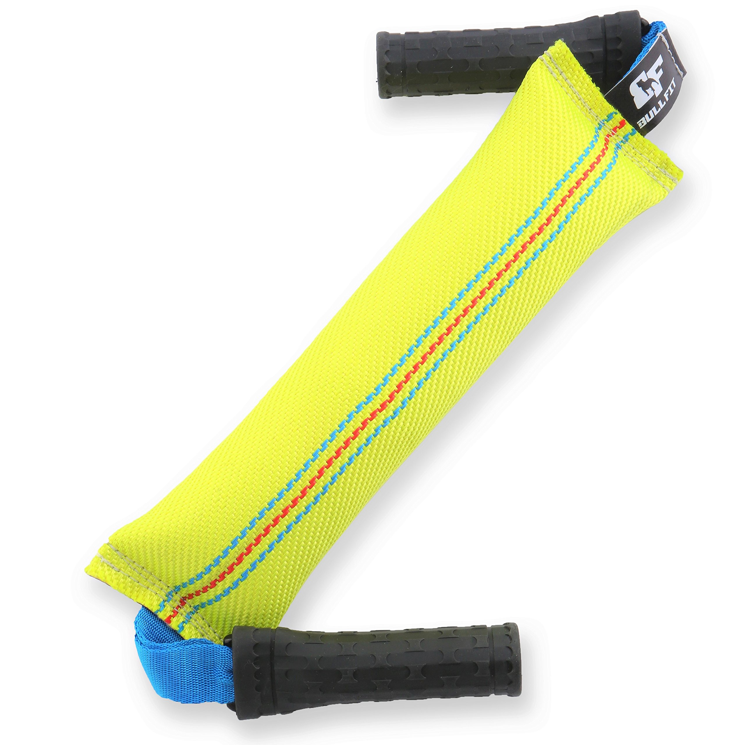 Unique Dog Bite Tug Toy with 2 Handles - Best for Tug of War & Workout with Your Dog! - Extra Tough, Durable Fire Hose Dog Tug for Medium to Large Dogs - Ideal for Interactive Play & Outdoor Training