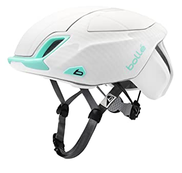 Bollé The One Premium Cascos Ciclismo, Unisex Adulto, White/Mint, 54-