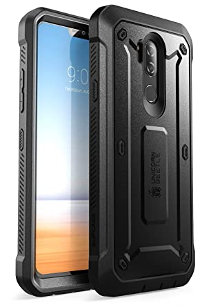 pretty nice 01d4d ff464 LG G7 Case, LG G7 ThinQ Case, SUPCASE Full-body Rugged Holster Case with  Built-in Screen Protector for LG G7 2018 Release, Unicorn Beetle Pro Series  ...