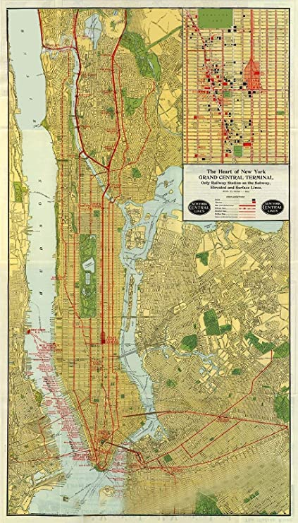Mya Subway Map.Amazon Com Magnet New York City 1918 Subway Map Mta Historic Map