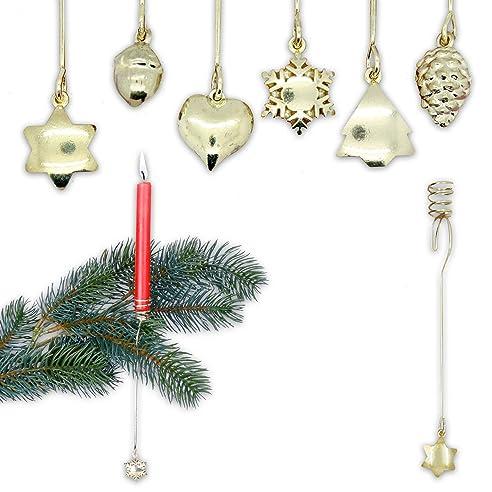 Kerzenhalter Weihnachtsbaum Pendel amazon de goldene pendel kerzenhalter aus metall modell golden