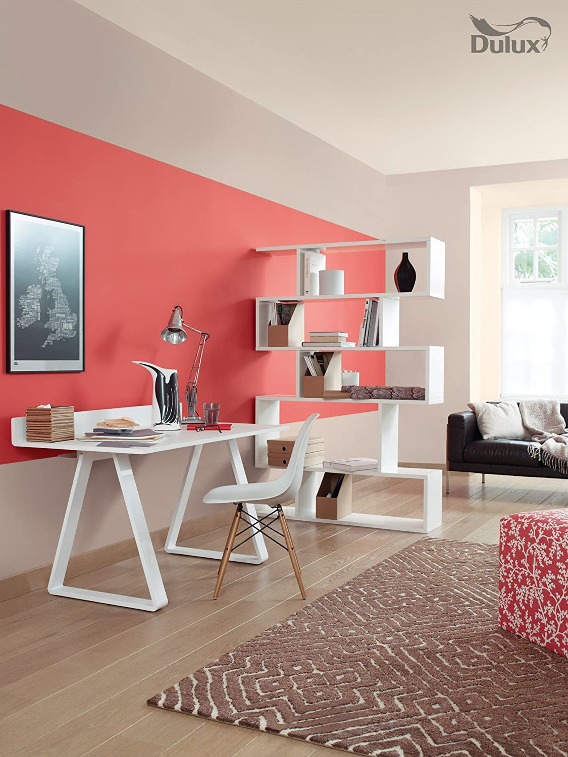 Using Pantone Color Living Coral In Your Home Office