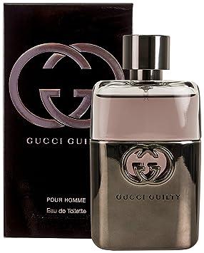0c55c568e81 Amazon.com : Guilty Pour Homme - Eau de Toilette 3 fl oz : Beauty