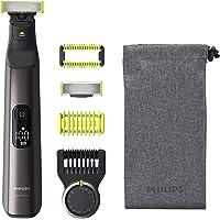 Philips OneBlade Pro Face + Body - Trimmer, scheerapparaat en styler - Precisiekam met 14 lengtestanden - Nat en droog…