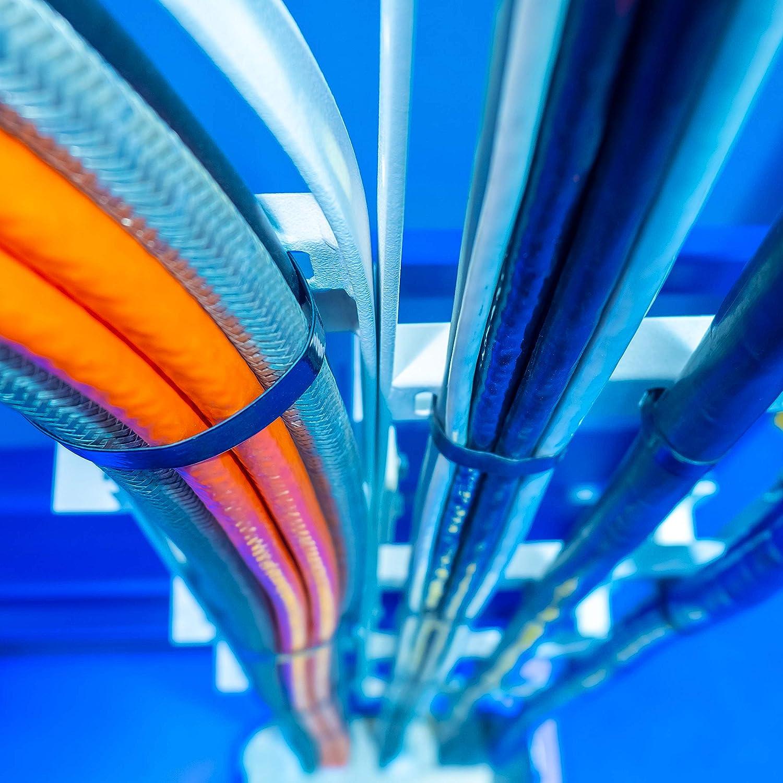 GTU 5116 Serre-c/âbles en nylon r/ésistant aux UV Noir 200 mm x 2,7 mm Charge maximale 9 kg 100 tgl