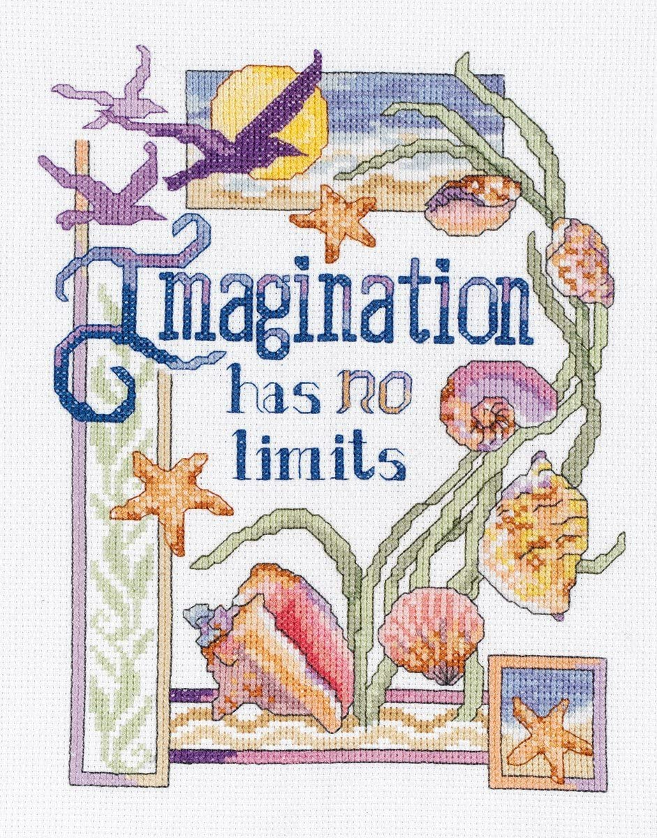 Janlynn Counted Cross Stitch Kit Waiting for Santa Stocking
