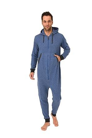 6232a025000f18 Normann Copenhagen Herren Jumpsuit Overall Pyjama Onesie Einteiler Langarm  - 271 167 99 444: Amazon.de: Bekleidung