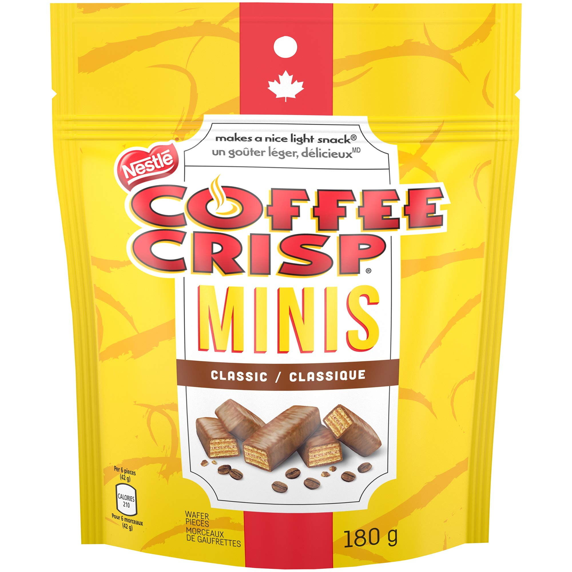 COFFEE CRISP NESTLE Minis, 180g Bag