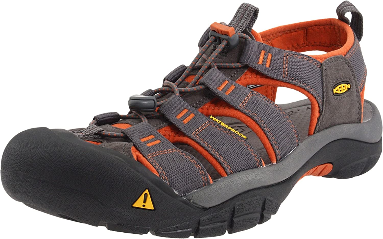 KEEN Men's Newport H2 Sandal B005DAORVU 11 D(M) US|Dark Shadow/Bombay Brown