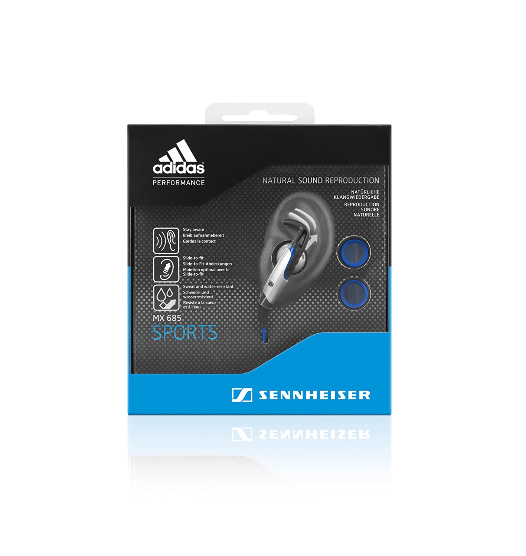 Sennheiser MX 685 Sports - Auriculares in-ear, negro: Amazon.es: Electrónica