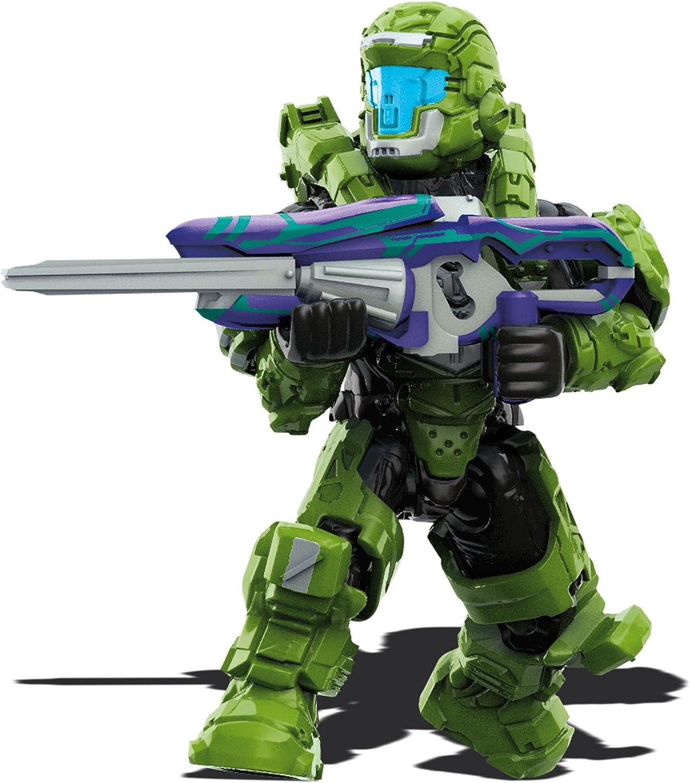 Mega Construx Halo Heroes Spartan Defender Figure