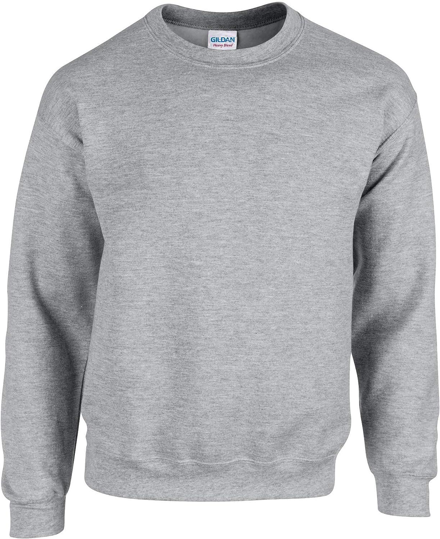 Gildan Heavy Blend Adult Crew Neck SweatShirt Sport Grey S