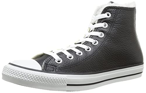 f041d4f51e474a Converse Unisex-Adult Chuck Taylor All Star Adulte Shearling HI Trainers  381730 8 Black