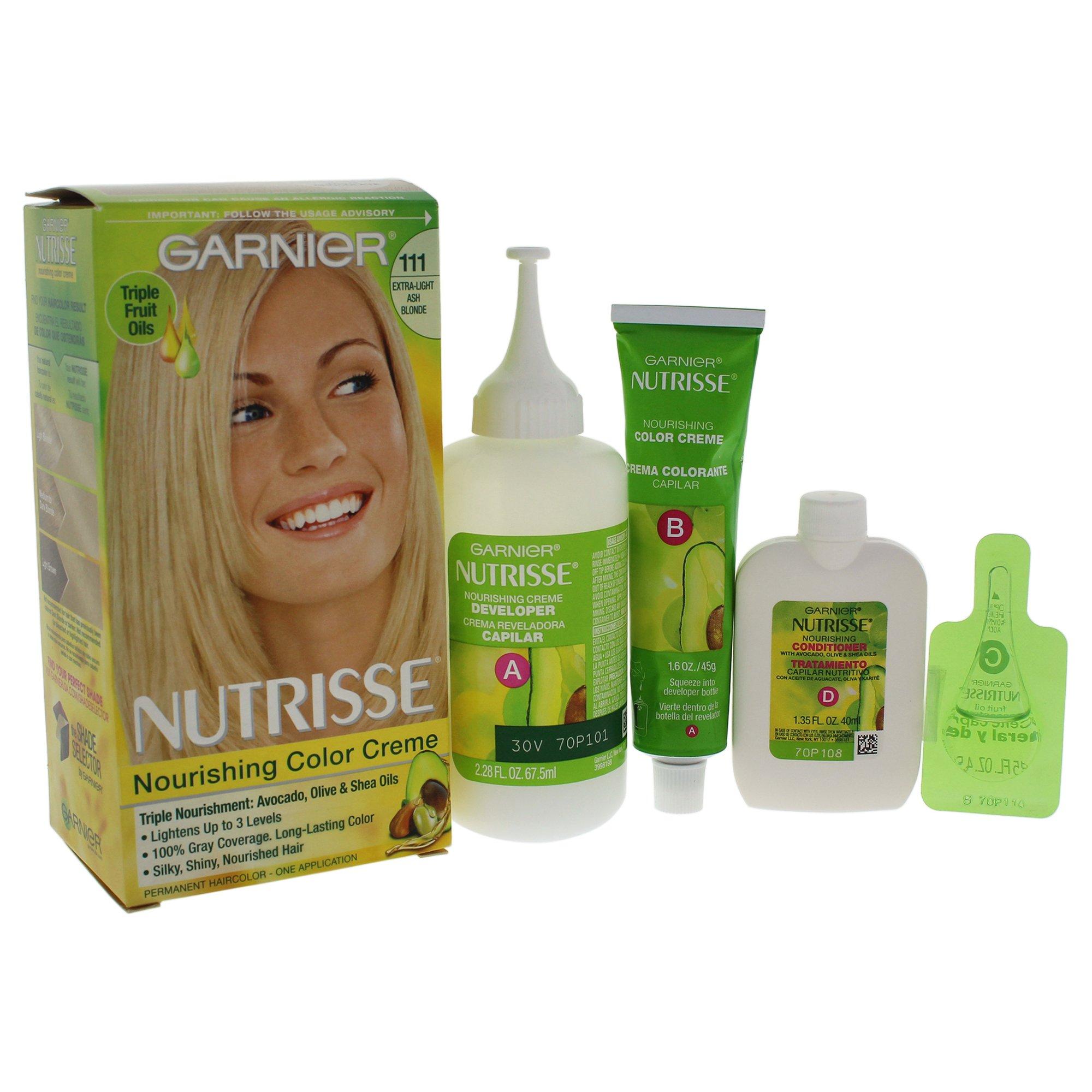 Amazon.com : Garnier Nutrisse Level 3 Permanent Hair Creme, Extra ...