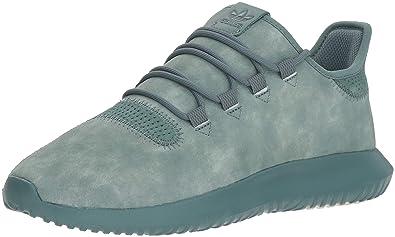 low priced 1bdd8 b04eb adidas Originals Men s Tubular Shadow Running Shoe, raw Green Chalk White,  ...