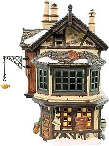 Department 56 Ebenezer Scrooge's House Lighted Building (56.58490)