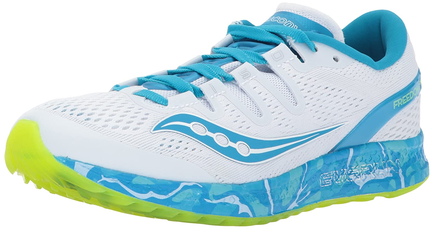 Saucony Women's Freedom ISO Running Shoe B01NCOUBAK 12 B(M) US|Blue