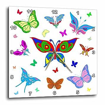 Amazon Com 3drose Alexis Design Butterfly Colorful Butterflies