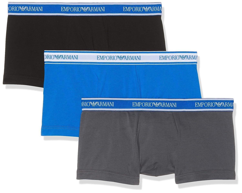 TALLA M. Emporio Armani Underwear Bañador (Pack de 3) para Hombre