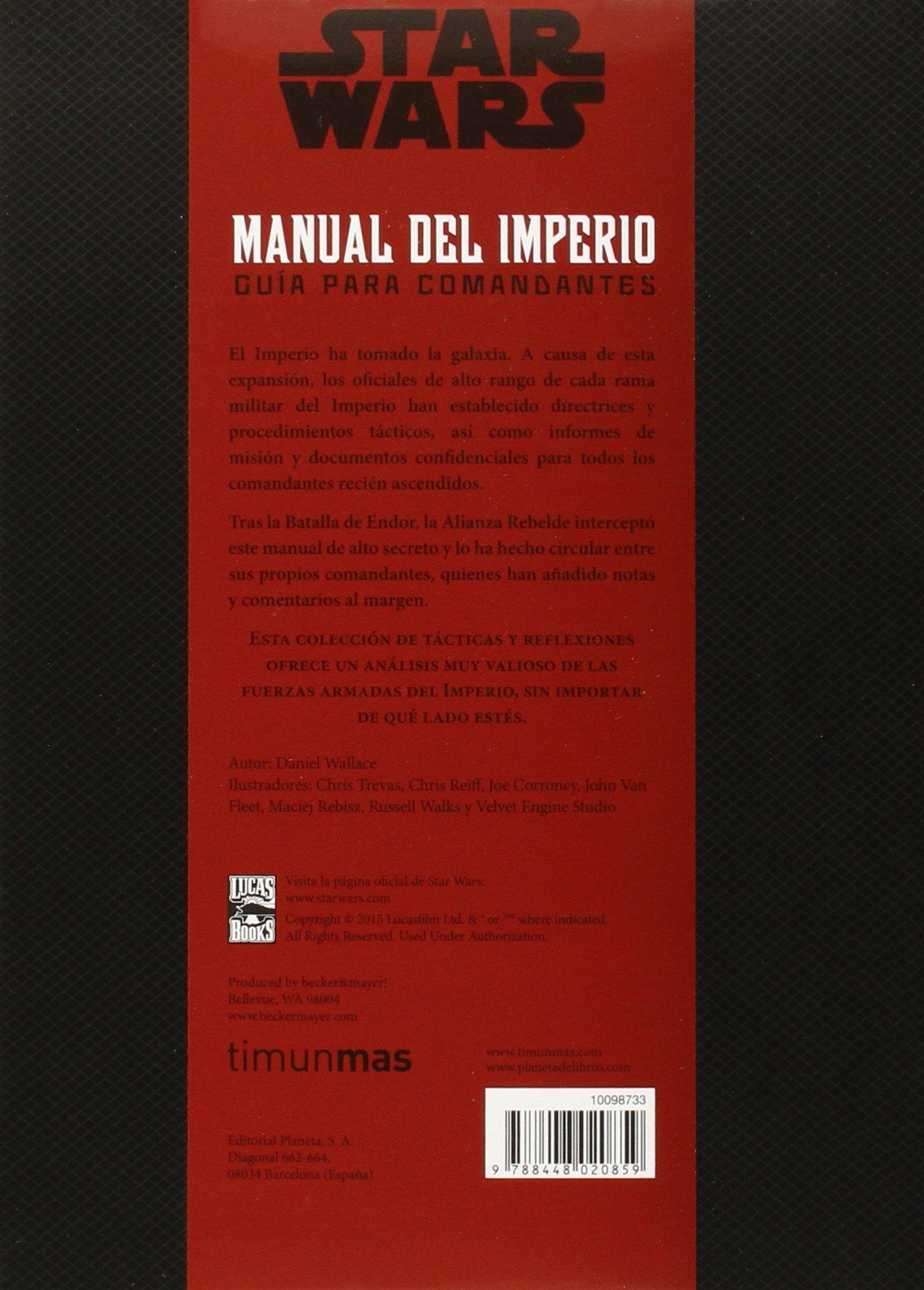 Manual del Imperio (Star Wars Ilustrados): Amazon.es: Wallace, Daniel, Traducciones Imposibles S. L.: Libros