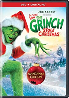 Book Cover: Dr. Seuss' How The Grinch Stole Christmas