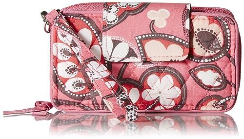 Vera Bradley Smartphone 6 Wristlet, Blush Pink, One Size