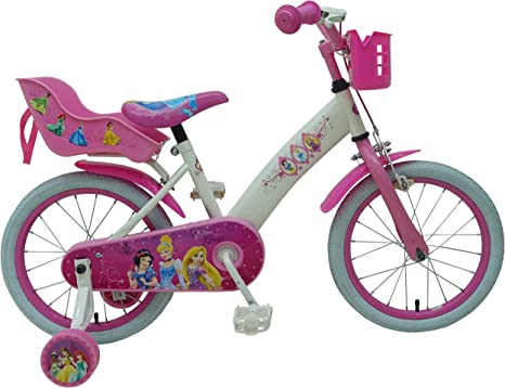 Bicicleta Infantil Niña Chica 16 Pulgadas Disney Princess Freno ...