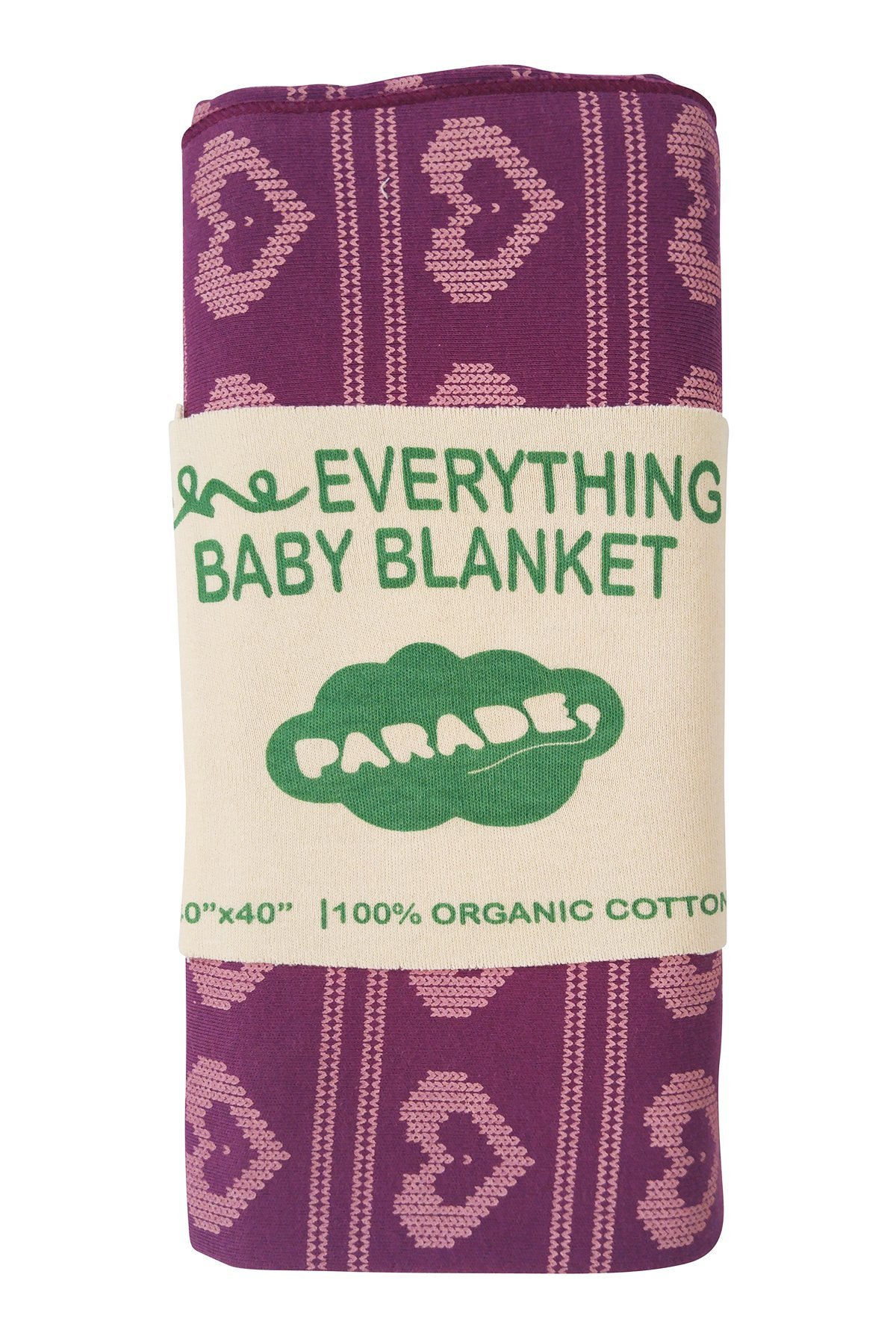 Parade Organics ''Everything Baby Wrap Violet Heart Knit