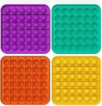 Push Pop Bubble Sensory Fidget Toy Autism Special Needs STRESS RELIEVER Relief