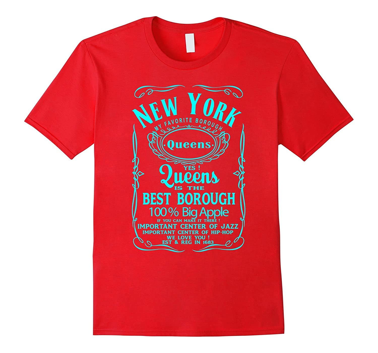 New York City Queens NYC UNITED STATES USA T-Shirt-T-Shirt