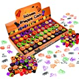 50 Pieces Halloween Assorted Stamps Kids Self-Ink Stamps (25 DIFFERENT Designs, Plastic Stamps, Trick Or Treat Stamps…