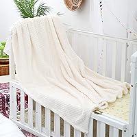 Kinwal Plush Fleece Baby Blankets for Boys, Girls, Kids, Toddler, Infant, Fuzzy Throw Blanket Fluffy Cozy Nap Blanket…