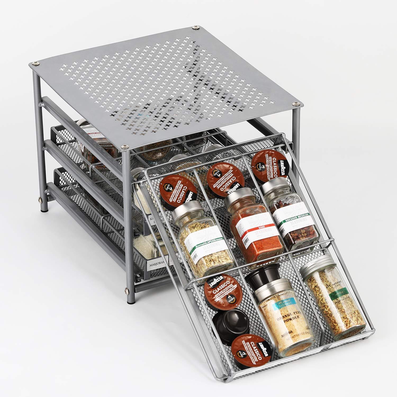 Best sliding pot rack wall mount - Kitchen Smarter
