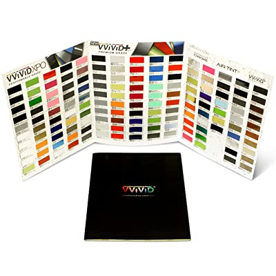 VViViD Vinyl Complete Car Wrap Sample Booklet: Kitchen & Dining