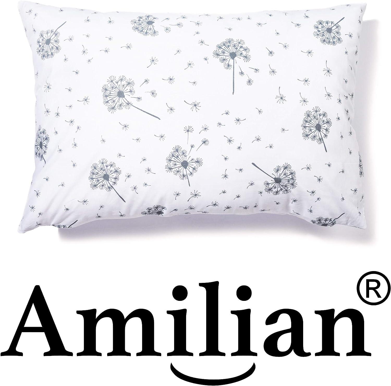 Amilian/® Kissen MIT F/ÜLLUNG Dekokissen 80cm x 80cm Sternchen Schwarz