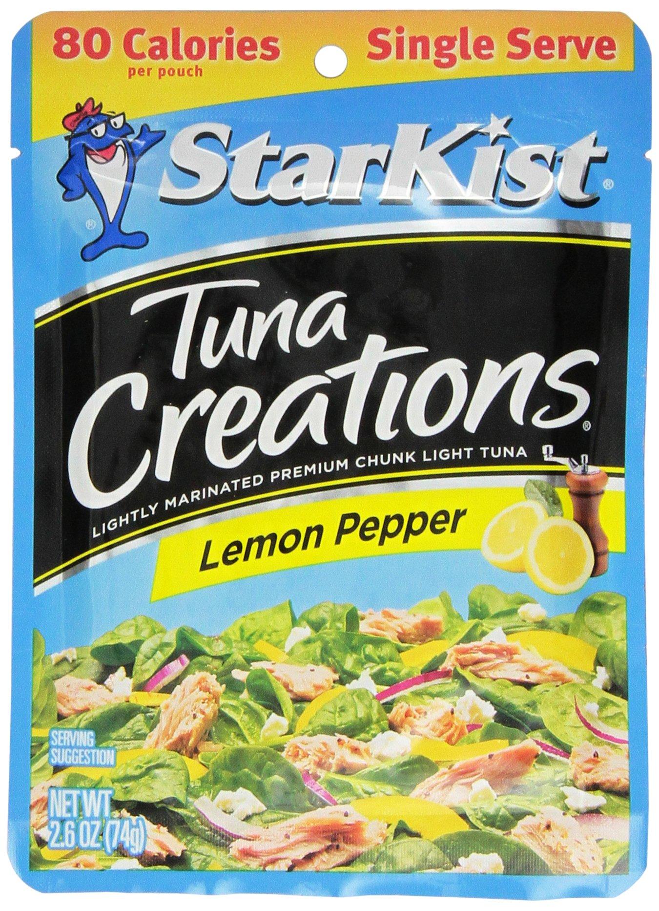 Amazon Com Starkist Tuna Creations 2 6oz Pouch Pack Of