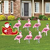 PRODUCT WORKS Lighted Flamingo//Hat Outdoor Decor Discontinued by Manufacturer 32-Inch