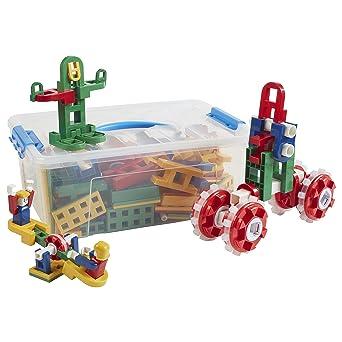 ECR4Kids Lil Engineers Kit de construcción de matemáticas, kit de construcción, juguetes educativos sensoriales