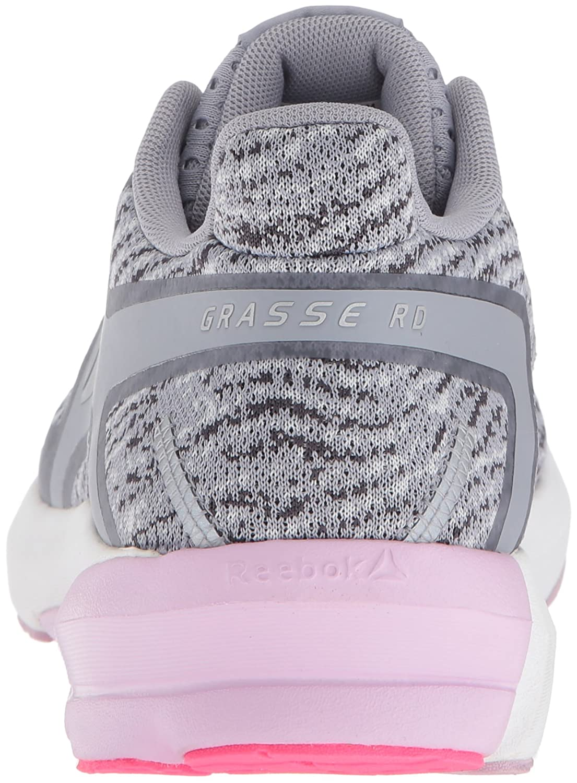 Reebok B073X8GWM7 Women's Grasse Road Sneaker B073X8GWM7 Reebok 9.5 B(M) US|Cool Shadow/White/Porcelain/Ash Grey/Moonglow/Acid Pink cb882f