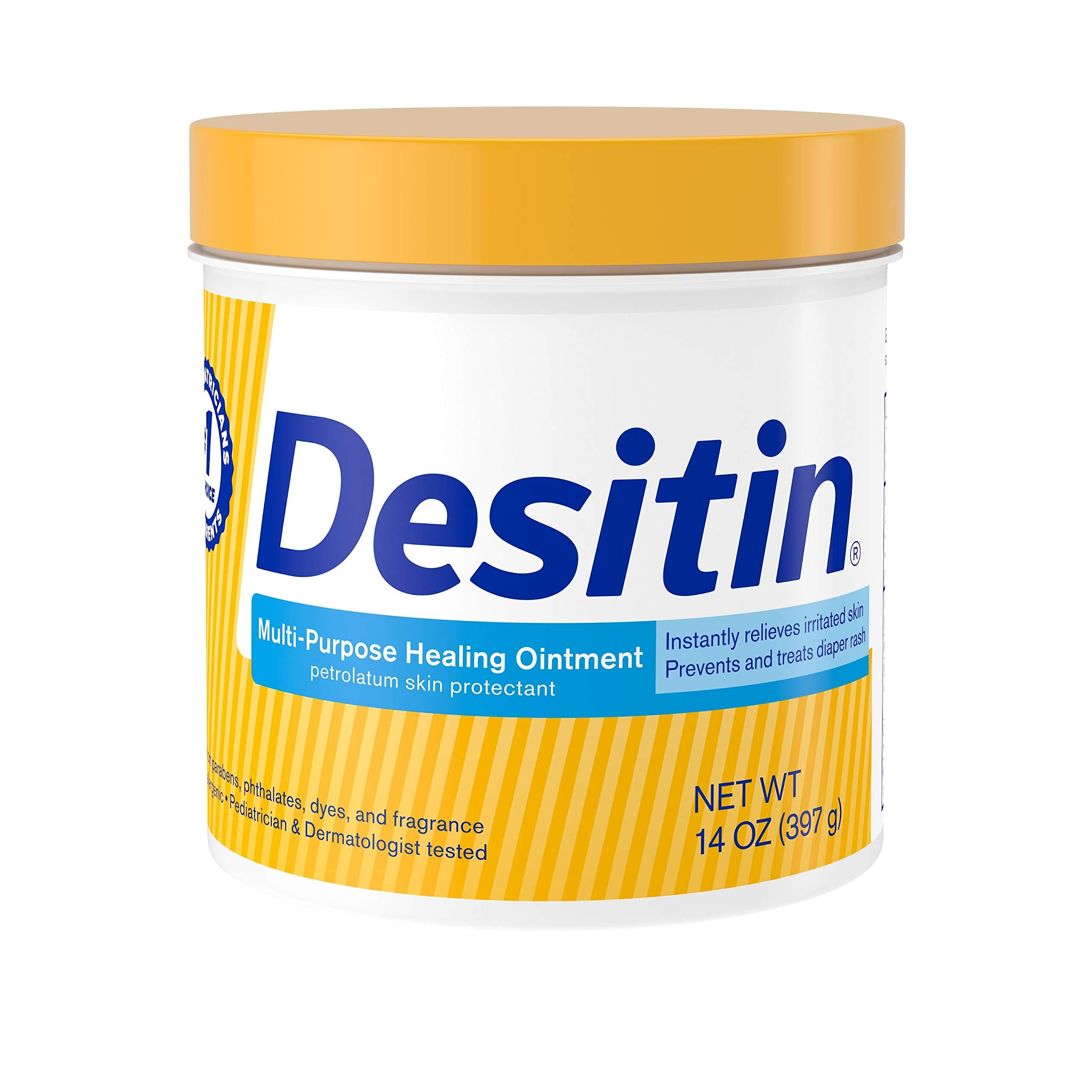 Desitin Multipurpose Baby Diaper Rash Ointment & Skin Protectant with White Petrolatum, 14 oz by Desitin